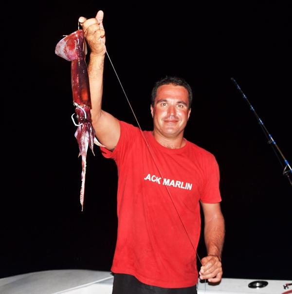 Bait for swordfish by Capt Yann Colas - Rod Fishing Club - Rodrigues Island - Mauritius - Indian Ocean