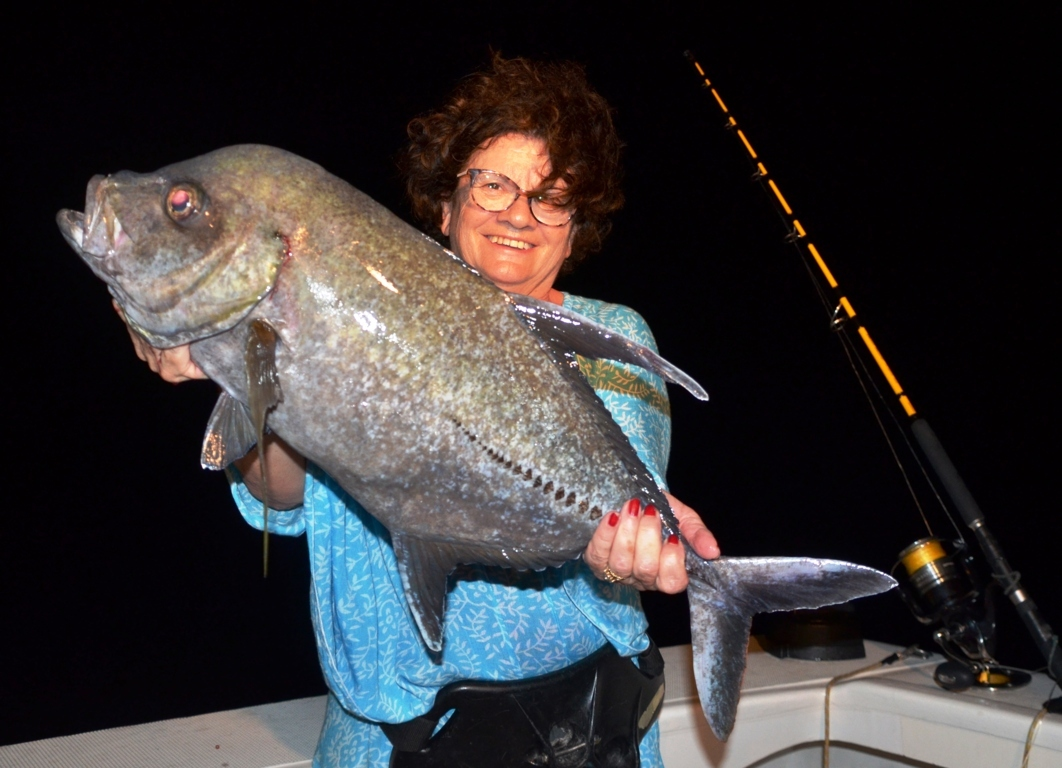 Carangue noire - Rod Fishing Club - Ile Rodrigues - Maurice - Océan Indien