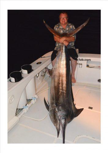 L' ami Pierre et son marlin noir - Rod Fishing Club - Ile Rodrigues - Maurice - Océan Indien