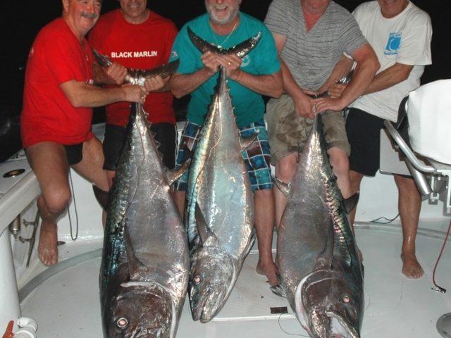 Les Solides de Cap Breton avec leurs doggies - Rod Fishing Club - Ile Rodrigues - Maurice - Océan Indien