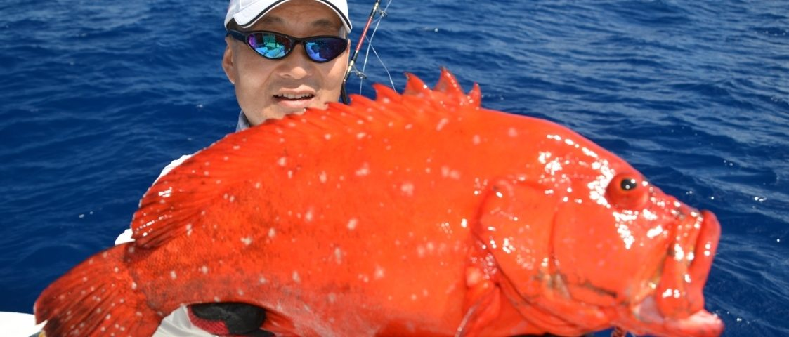 Mama rouge pour Igor - Rod Fishing Club - Ile Rodrigues - Maurice - Océan Indien