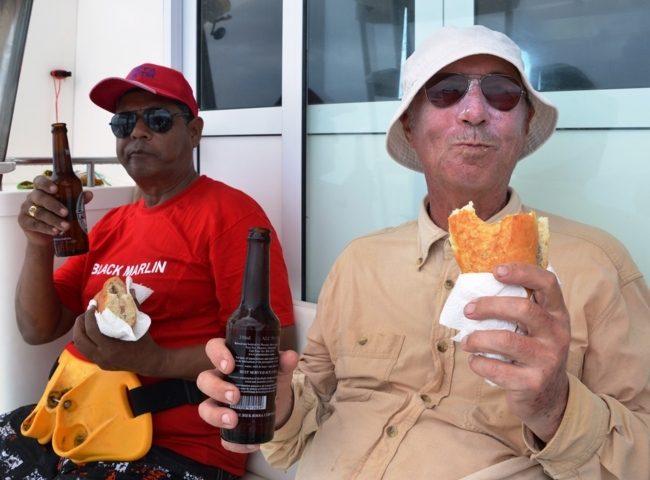 après l' effort... Rod Fishing Club - Ile Rodrigues - Maurice - Océan Indien