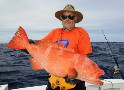 babone pour Jacques - Rod Fishing Club - Ile Rodrigues - Maurice - Océan Indien
