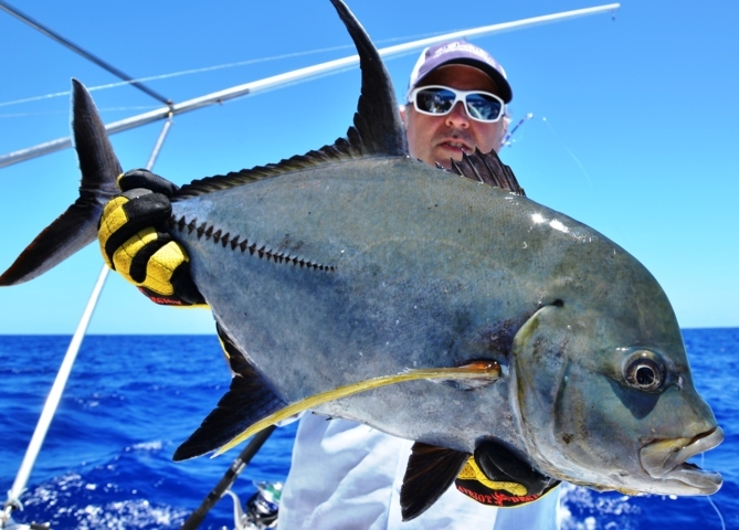 carangue noire - Rod Fishing Club - Ile Rodrigues - Maurice - Océan Indien