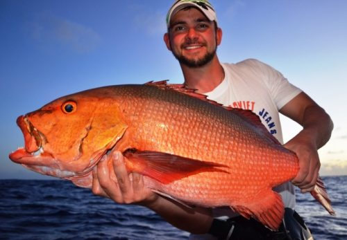 carpe rouge - Rod Fishing Club - Ile Rodrigues - Maurice - Océan Indien