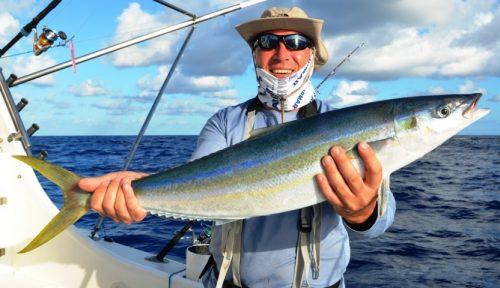 coureur arc en ciel - Rod Fishing Club - Ile Rodrigues - Maurice - Océan Indien