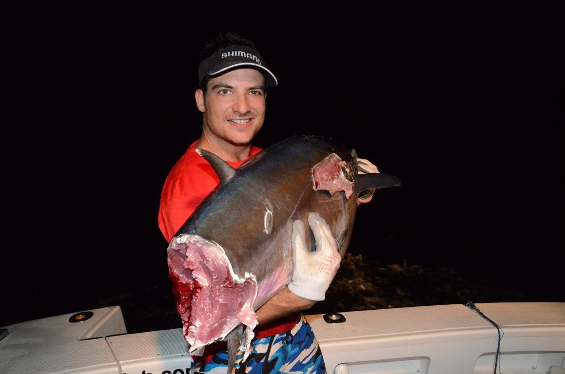 encore un de coupé - Rod Fishing Club - Ile Rodrigues - Maurice - Océan Indien