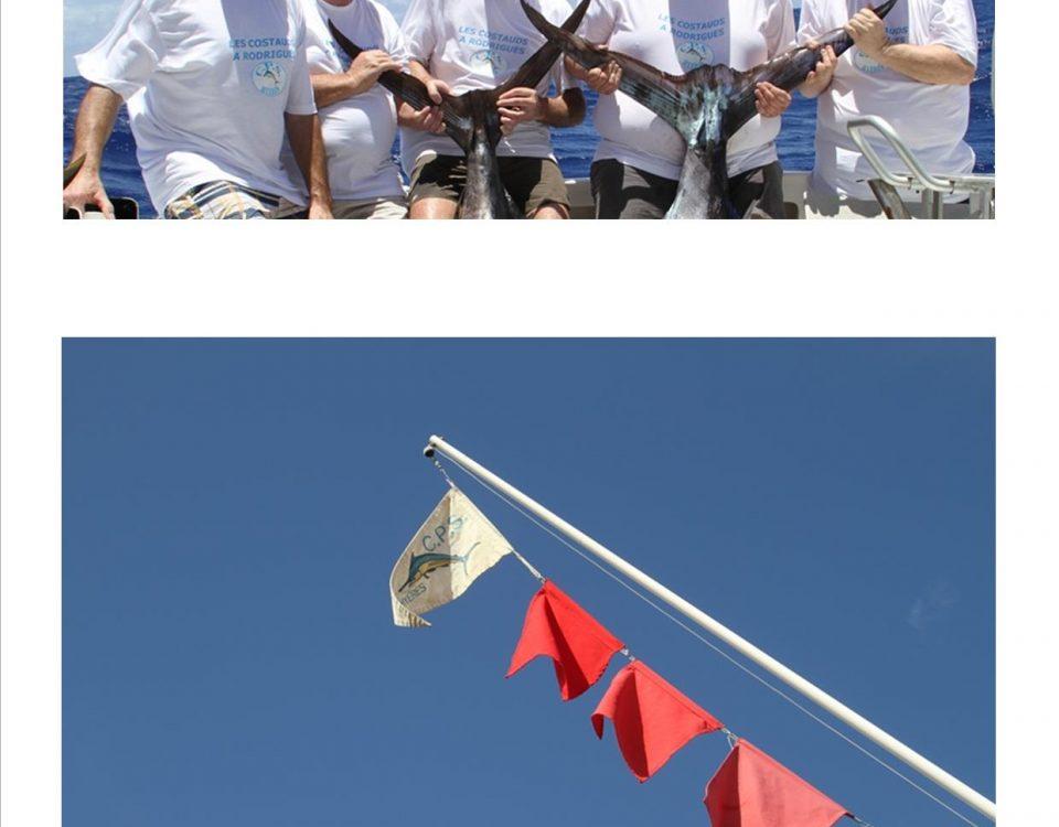 l' équipe au complet - Rod Fishing Club - Ile Rodrigues - Maurice - Océan Indien