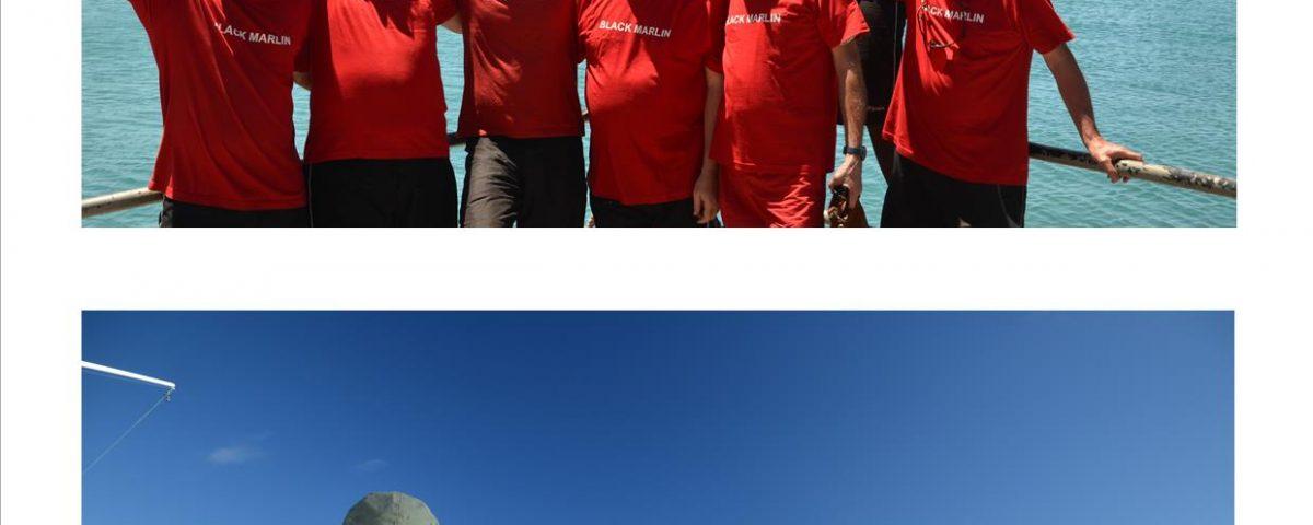 la fine équipe poitevine - Rod Fishing Club - Ile Rodrigues - Maurice - Océan Indien