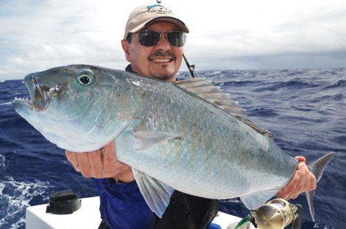poisson poulet pris en palangrotte - Rod Fishing Club - Ile Rodrigues - Maurice - Océan Indien