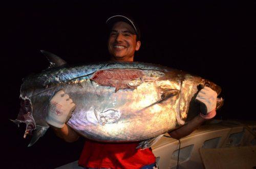 restes d'un doggy de plus de 50kg - Rod Fishing Club - Ile Rodrigues - Maurice - Océan Indien