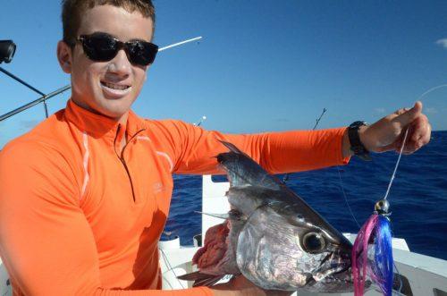 tête de thon jaune - Rod Fishing Club - Ile Rodrigues - Maurice - Océan Indien