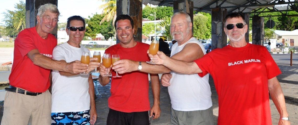 tchin - tchin - Rod Fishing Club - Ile Rodrigues - Maurice - Océan Indien