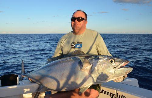 thon dents de chien au jig - Rod Fishing Club - Ile Rodrigues - Maurice - Océan Indien