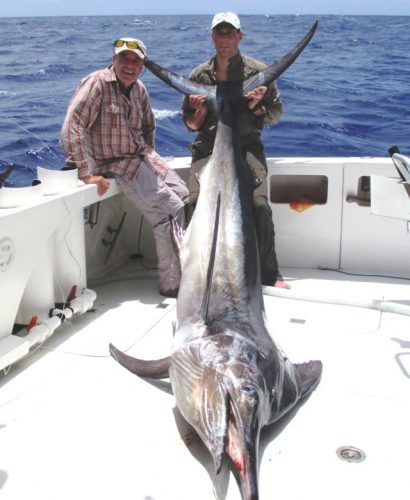 150kg black marlin - Rod Fishing Club - Rodrigues Island - Mauritius - Indian Ocean