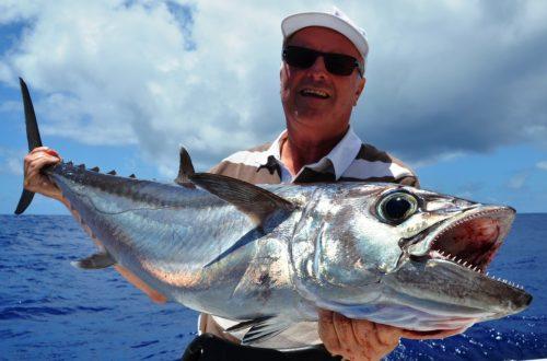 16kg doggy - Rod Fishing Club - Rodrigues Island - Mauritius - Indian Ocean