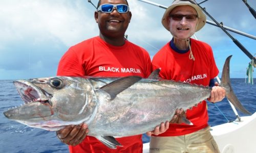 24kg doggy for Roland - Rod Fishing Club - Rodrigues Island - Mauritius - Indian Ocean