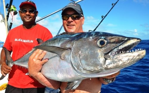 25kg doggy on baiting for Jean Philippe - Rod Fishing Club - Rodrigues Island - Mauritius - Indian Ocean
