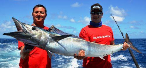 25kg wahoo on trolling - Rod Fishing Club - Rodrigues Island - Mauritius - Indian Ocean