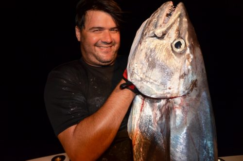 27kg doggy by Moshe on jigging - Rod Fishing Club - Rodrigues Island - Mauritius - Indian Ocean