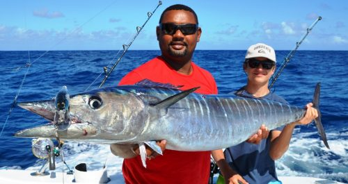 27kg wahoo - Rod Fishing Club - Rodrigues Island - Mauritius - Indian Ocean