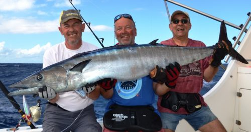 28.5kg wahoo - Rod Fishing Club - Rodrigues Island - Mauritius - Indian Ocean