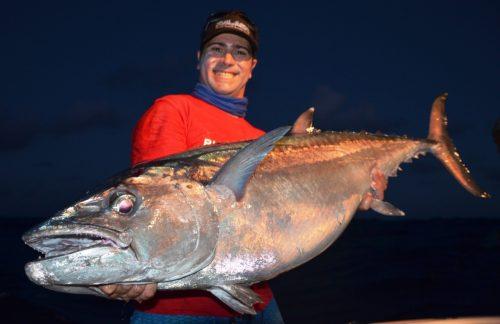 28kg doggy on baiting - Rod Fishing Club - Rodrigues Island - Mauritius - Indian Ocean