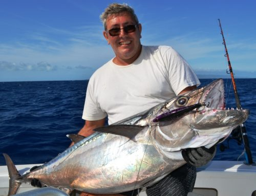30kg doggy - Rod Fishing Club - Rodrigues Island - Mauritius - Indian Ocean