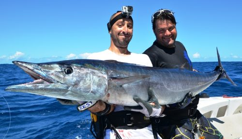 33kg wahoo on trolling - Rod Fishing Club - Rodrigues Island - Mauritius - Indian Ocean