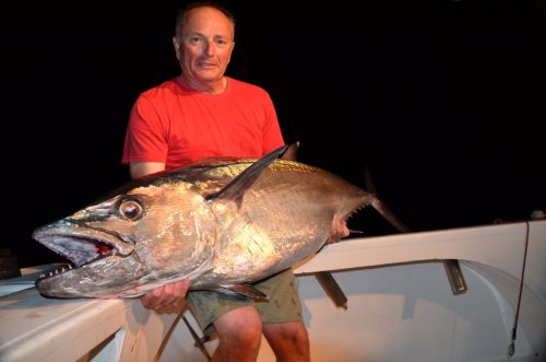 40kg doggy - Rod Fishing Club - Rodrigues Island - Mauritius - Indian Ocean