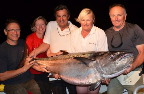 42kg doggy - Rod Fishing Club - Rodrigues Island - Mauritius - Indian Ocean