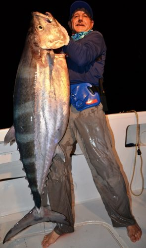 46kg doggy - Rod Fishing Club - Rodrigues Island - Mauritius - Indian Ocean