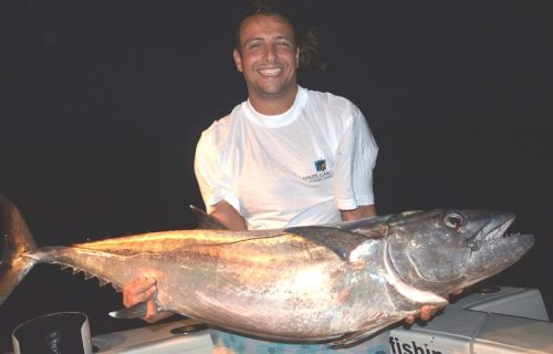 46kg doggy on baiting - Rod Fishing Club - Rodrigues Island - Mauritius - Indian Ocean