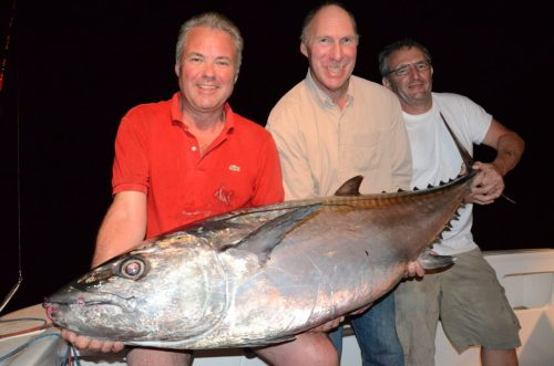 47kg doggy for Michel on baiting - Rod Fishing Club - Rodrigues Island - Mauritius - Indian Ocean