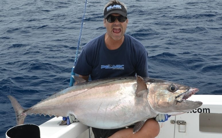 50.2kg doggy on baiting - Rod Fishing Club - Rodrigues Island - Mauritius - Indian Ocean