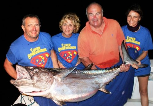 50.6kg doggy on baiting - Rod Fishing Club - Rodrigues Island - Mauritius - Indian Ocean