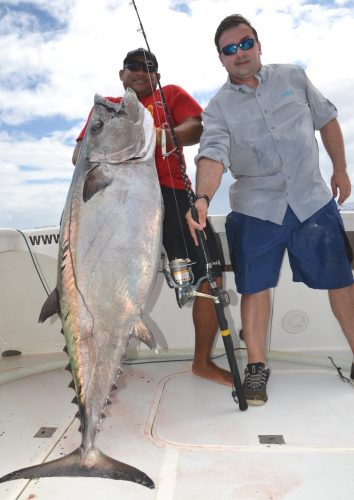 53Kg doggy for Benoit - Rod Fishing Club - Rodrigues Island - Mauritius - Indian Ocean