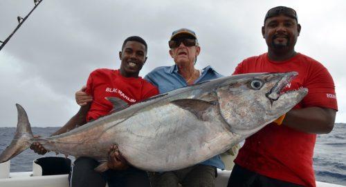 55.5kg doggy - Rod Fishing Club - Rodrigues Island - Mauritius - Indian Ocean