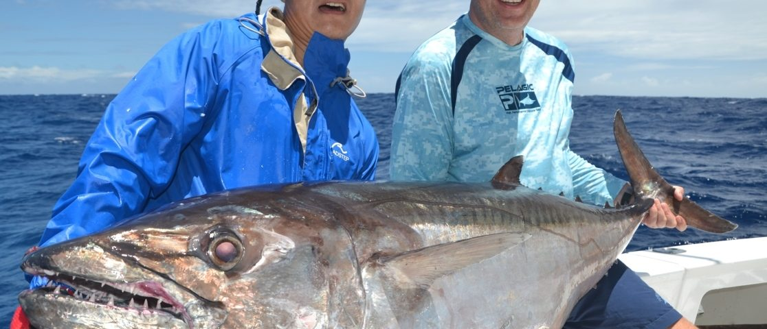 60.5kg doggy - Rod Fishing Club - Rodrigues Island - Mauritius - Indian Ocean