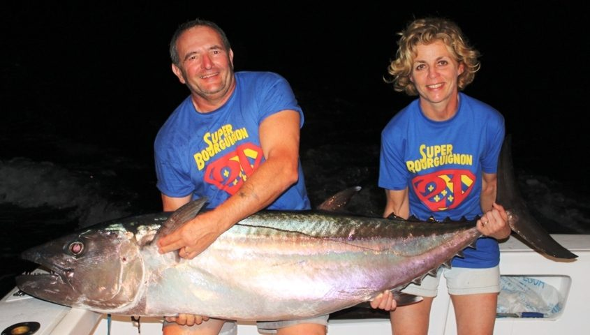 62.7kg doggy on baiting - Rod Fishing Club - Rodrigues Island - Mauritius - Indian Ocean
