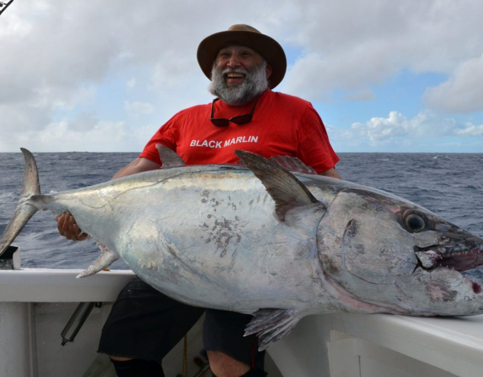 63.5kg doggy on baiting - Rod Fishing Club - Rodrigues Island - Mauritius - Indian Ocean