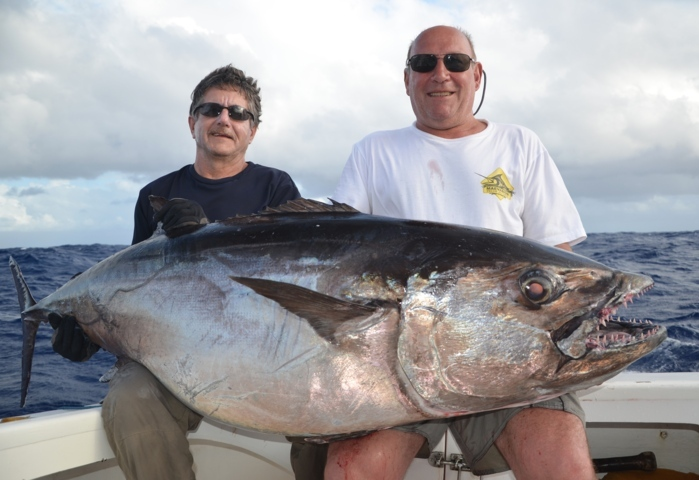 65kg doggy by Claudius - Rod Fishing Club - Rodrigues Island - Mauritius - Indian Ocean