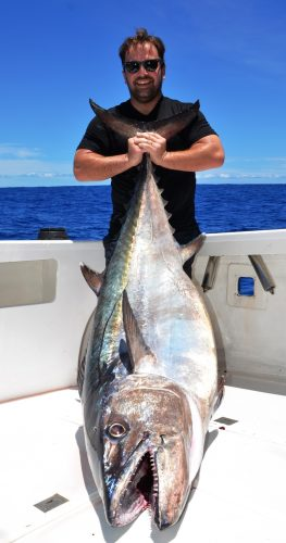 83kg doggy by Sebastien - Rod Fishing Club - Rodrigues Island - Mauritius - Indian Ocean