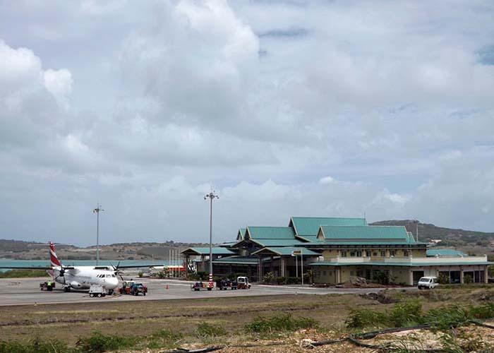 Aéroport de Rodrigues - Crédit photo ARL - Rod Fishing Club - Ile Rodrigues - Maurice - Océan Indien