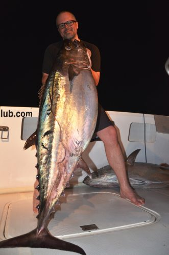 Big doggy at night - Rod Fishing Club - Rodrigues Island - Mauritius - Indian Ocean