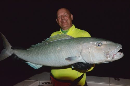 Big jobfish on night jigging - Rod Fishing Club - Rodrigues Island - Mauritius - Indian Ocean