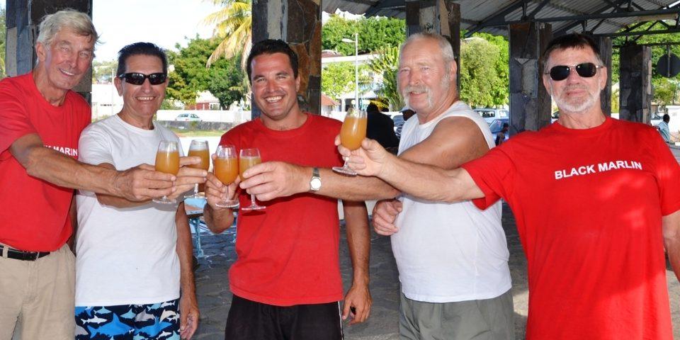 Chears...- Rod Fishing Club - Rodrigues Island - Mauritius - Indian Ocean