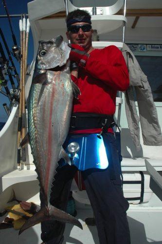 Doggy caught on jigging - Rod Fishing Club - Rodrigues Island - Mauritius - Indian Ocean