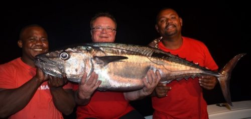 Doggy on baiting at night - Rod Fishing Club - Rodrigues Island - Mauritius - Indian Ocean