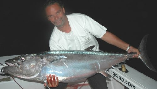 Doggy on jigging for Tof - Rod Fishing Club - Rodrigues Island - Mauritius - Indian Ocean